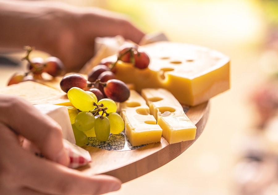 uva e formaggio